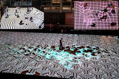 interactive floor projector, live system, ifloor