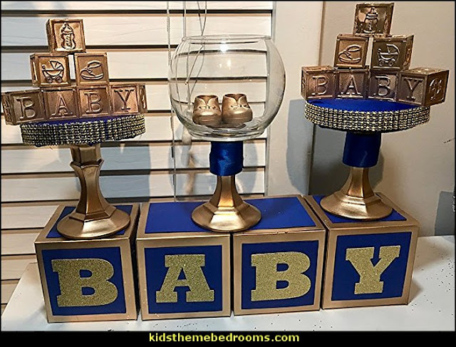 Royal Prince Baby Shower Centerpiece