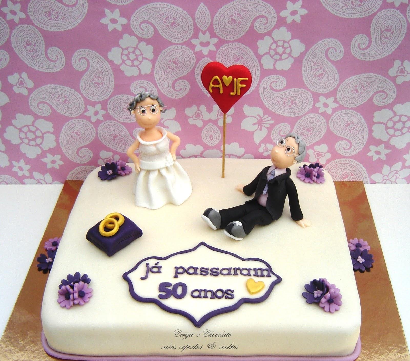 Cereja e chocolate 50 anos de - Regalos 50 anos de casados ...