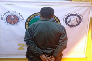 Homem com prisão decretada pela justiça