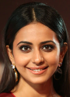 Telugu Actress Rakul Preet Singh Oily Face close Up Pictures (1)