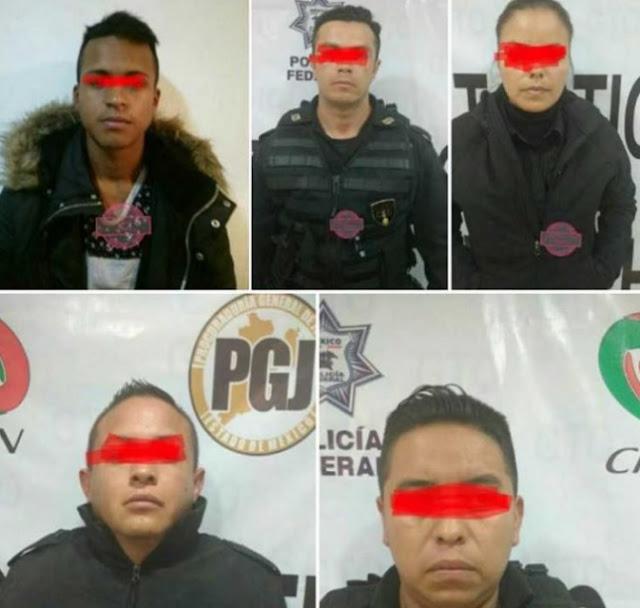 Policías contra robos