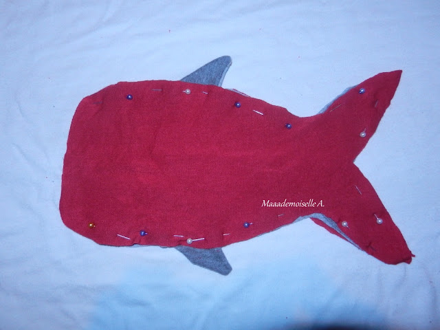|| DIY : Coudre une trousse requin (Tuto pas à pas en photos)