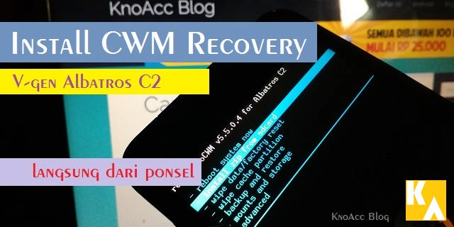 CWM Recovery Albatros C2 VGen