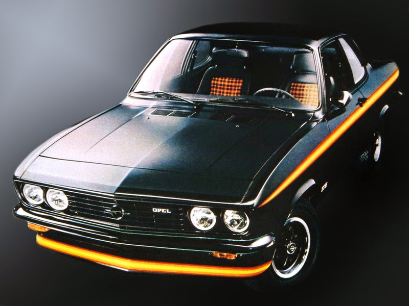 Opel Manta GT/E Black Magic