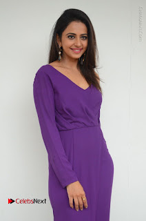 Actress Rakul Preet Singh Latest Stills in Beautiful Long Dress  0040.JPG