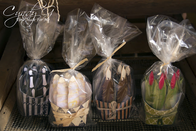 Halloween Treat boxes - Mummy fingers, Werewolf fingers, Witch fingers and skeleton fingers