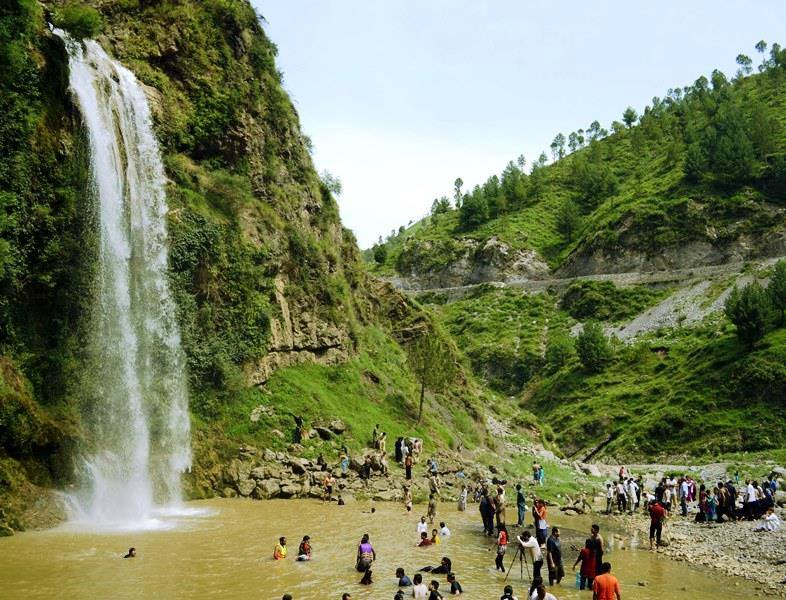 Sajikot Waterfall near Havelian,Pakistan