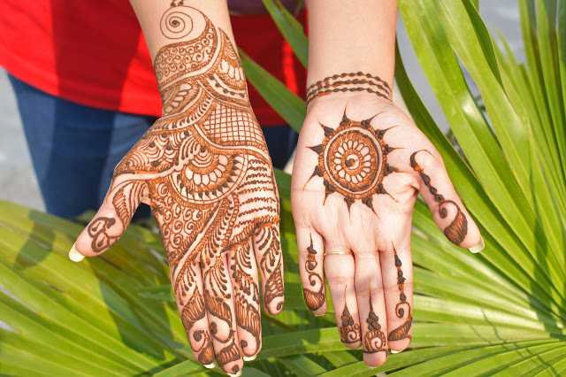 Best mehndi design for full hand