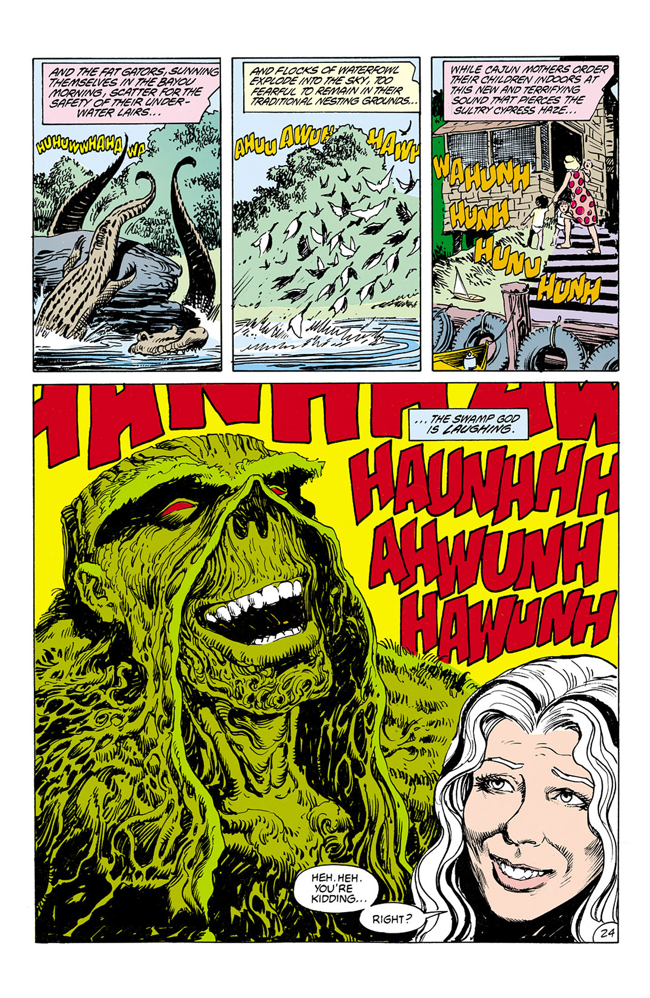 Swamp Thing (1982) Issue #75 #83 - English 22