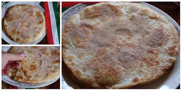 Buñuelos con tortillas de harina
