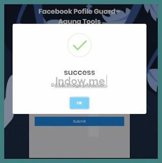 facebook profile guard aktif