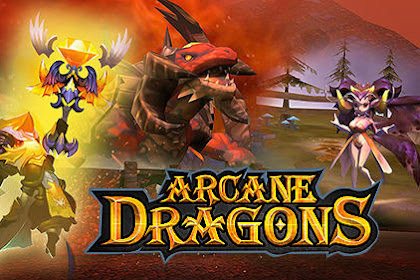 Download Game RPG Ringan Android Arcane Dragons