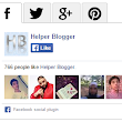 Tabbed Social Widget For Blogger ~ Helper Blogger