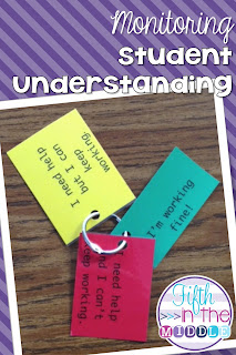 Use color-coded cards to monitor your students' understanding