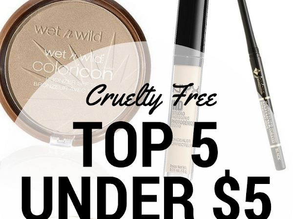 Top 5 Cruelty Free Picks Under $5