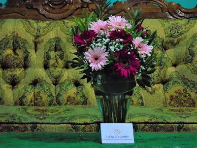 bunga hias gerbera