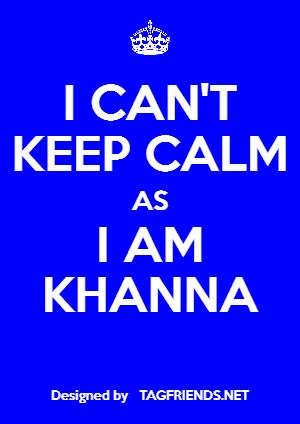 Indian Names ; Khanna
