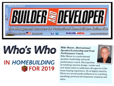 Mike Moore, Who's Who in Homebuilding