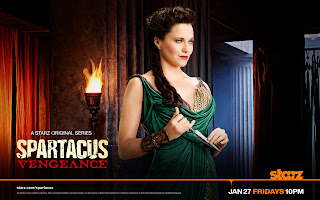 Spartacus Vengeance Lucteria HD Wallpaper
