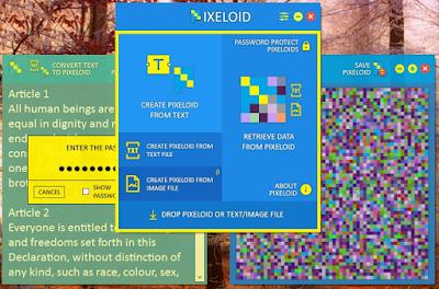 Pixeloid vs 1.1 | Codifica text sau imagini