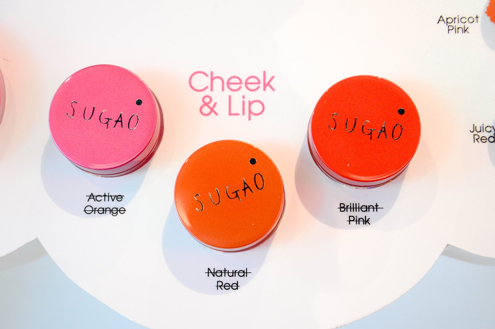 sugao cheek and lip review