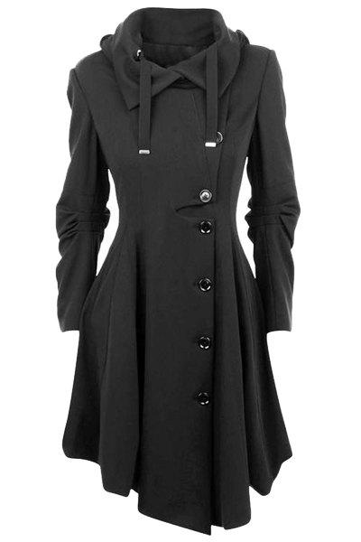 cappotto grigio lungo