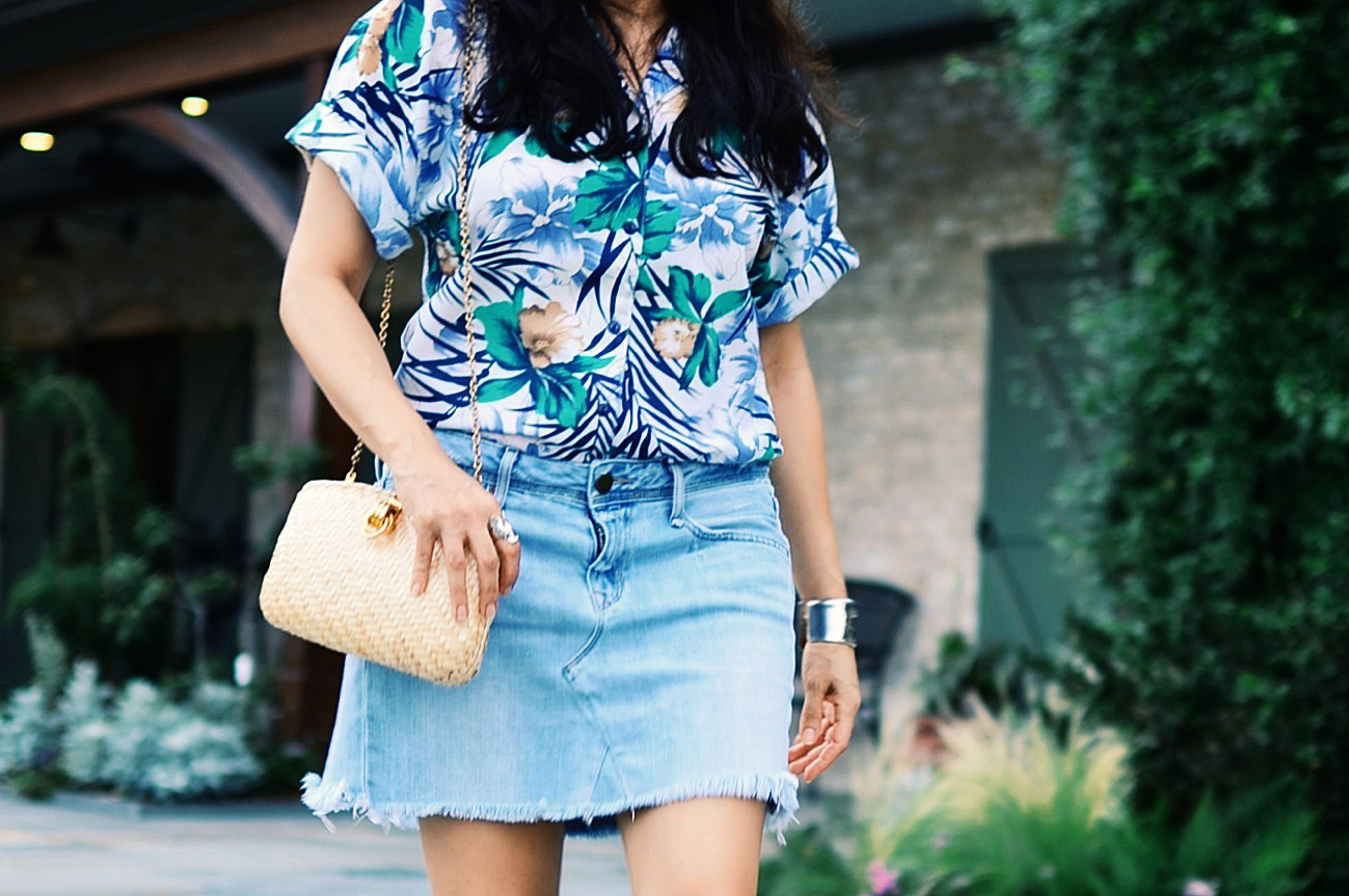Hawaiian prints trend