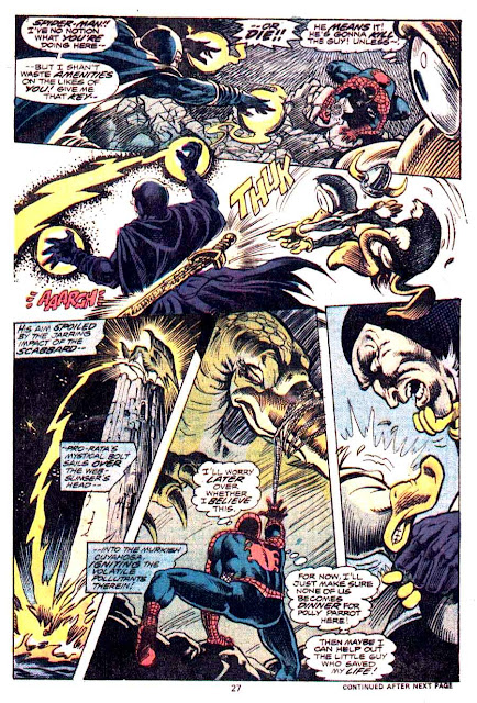 Howard the Duck v1 #1 marvel 1970s bronze age comic book page art by Frank Brunner