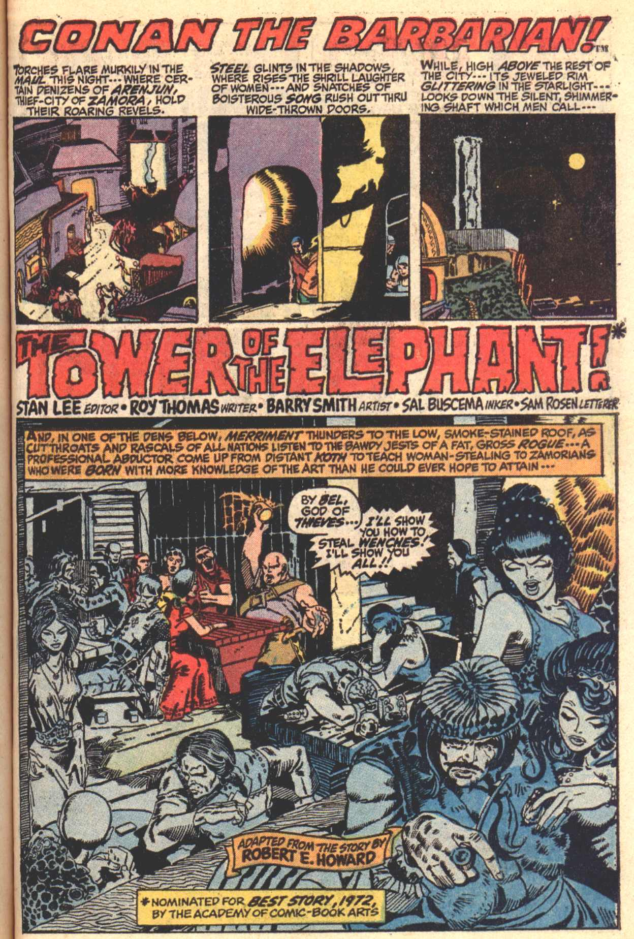 Conan the Barbarian (1970) Issue #4 #16 - English 2
