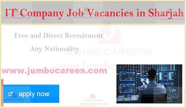 New It job openings in Sharjah, UAE latest jobs and careers,