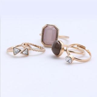 Statement rings by Ayesha