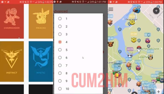 PokéMesh v9.1.0 Apk- Real time map Terbaru