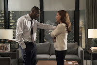 Molly's Game Jessica Chastain and Idris Elba Image 2