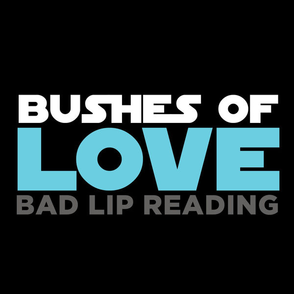 Bad Lip Reading - Bushes of Love - Single Cover