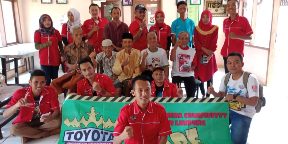 Toyota Indonesia Community Lampung Sukses Gelar TIC Care