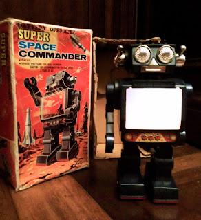 Robot Super Space Commander
