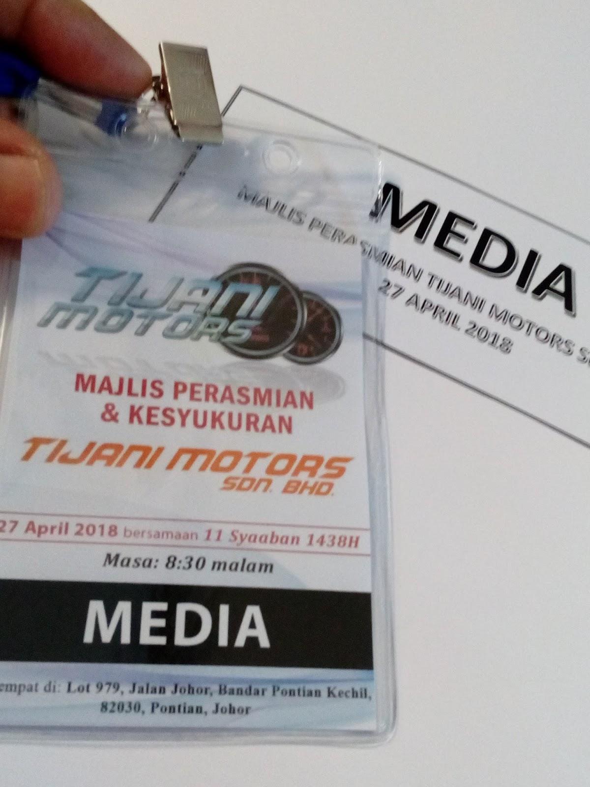 wakil media blogger