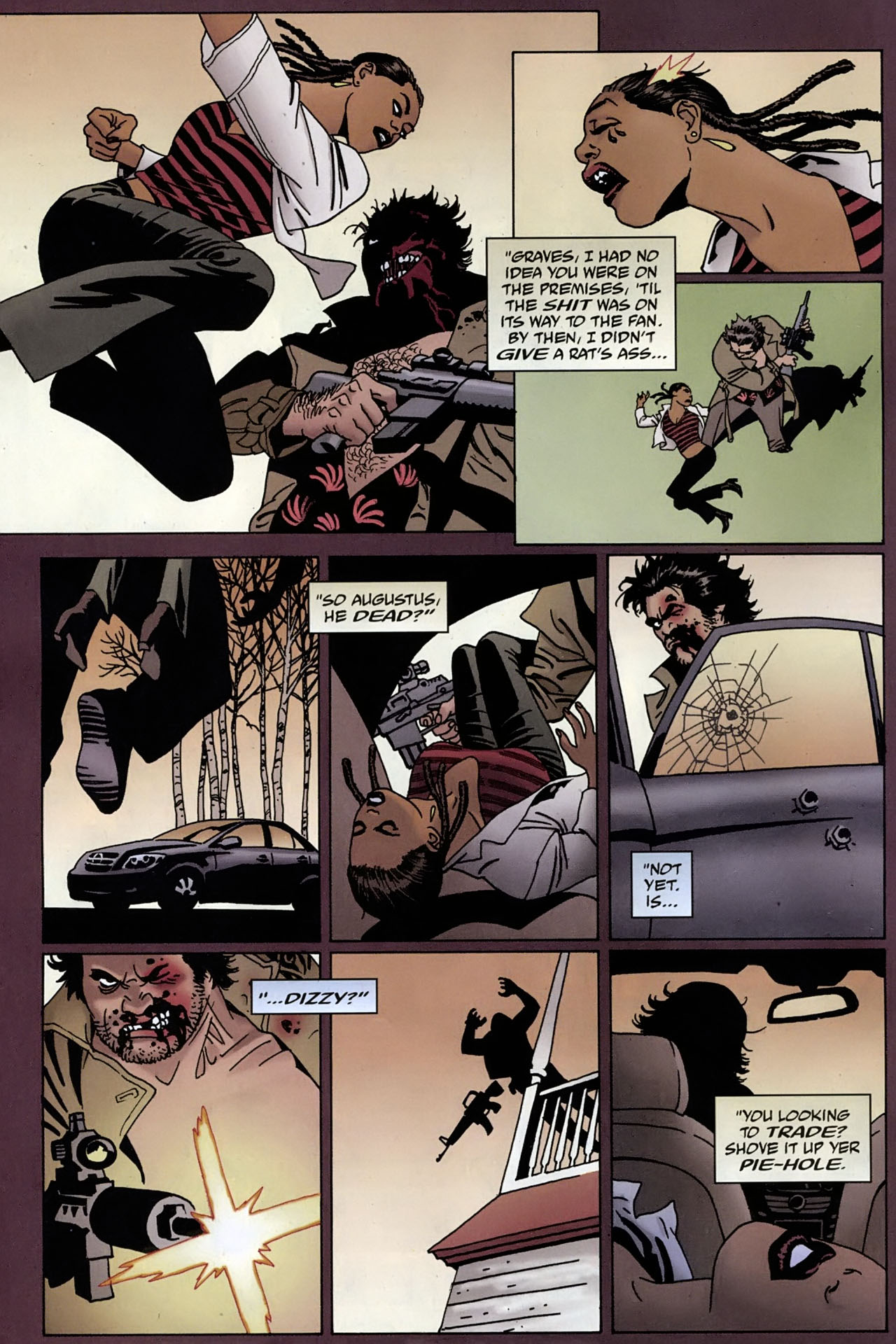 Read online 100 Bullets comic -  Issue #96 - 6