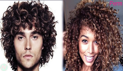 perm, perm hairstyle