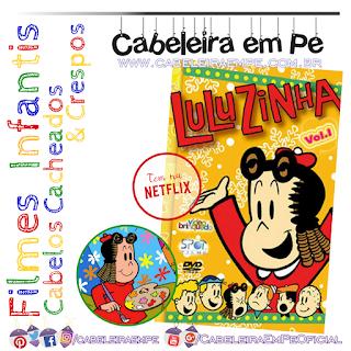 Luluzinha - Desenho Animado com Personagem Cacheada