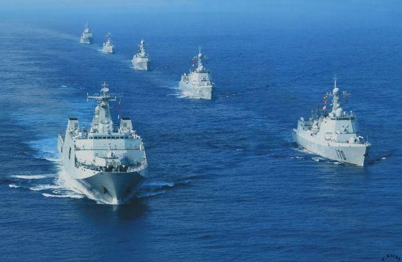 Armada kapal perang China