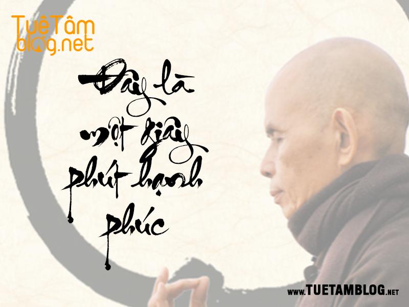 6 điều cơ bản nhất về hạnh phúc đích thực từ Thiền Sư Thích Nhất Hạnh www.tuetamblog.net