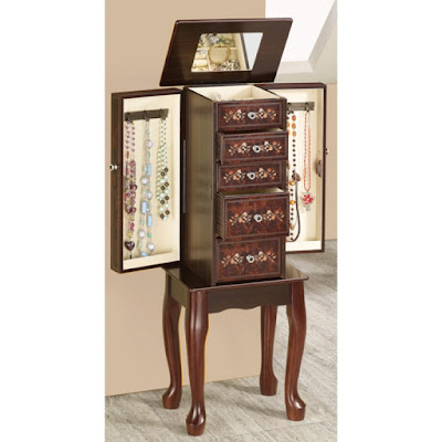 Shop Nile Corp Jewelry Armoires 5 Drawer
