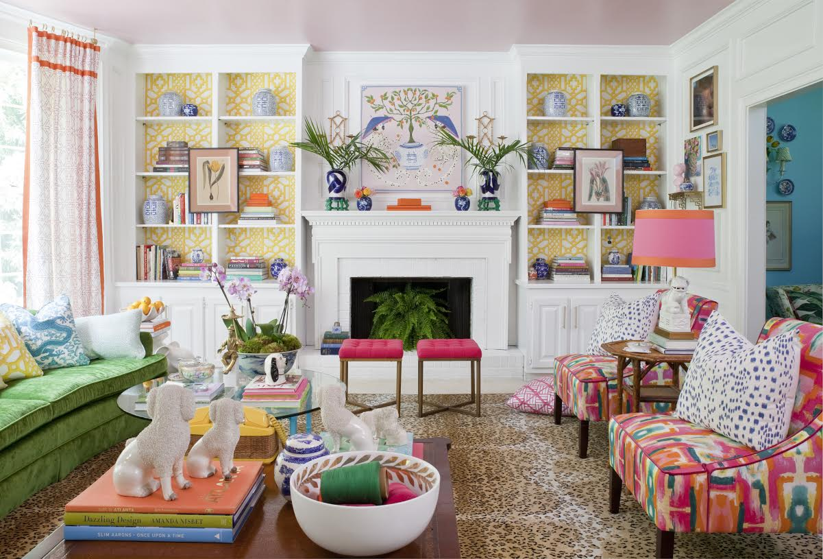 One Room Living The Pink Clutch One Room Challenge Spring Reveal
