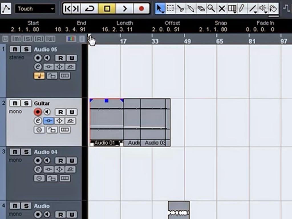 Cara Menyimpan Hasil Rekaman di Nuendo atau Cubase / Audio Mixdown - Hog Pictures