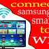 How to connect Samsung smart TV to WiFi