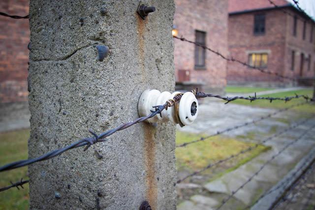 Filo spinato-Campo di concentramento di Auschwitz