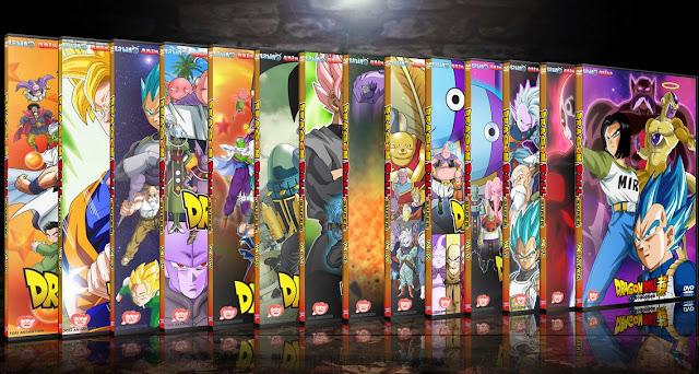 Dragon Ball Super Vol. 13 FINAL | Cover DVD | MEGA |