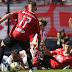Independiente reaccionó a tiempo y le quitó el triunfo a Estudiantes